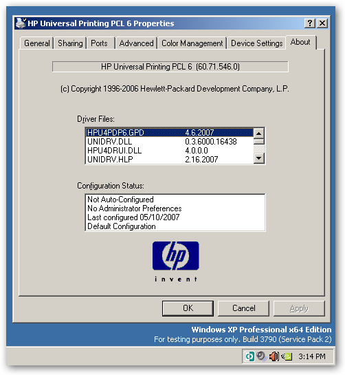 HP UPD - HP Universal Print Driver (UPD) supported ...