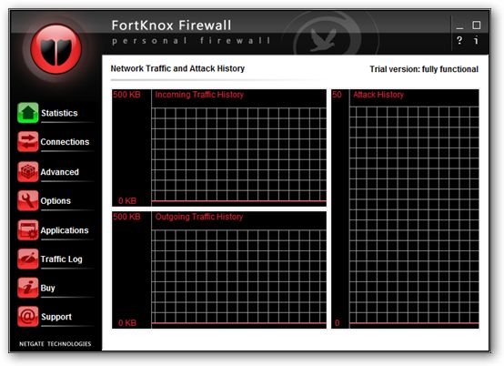 FortKnox Personal Firewall - under Vista x64