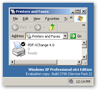 PDF-XChange Version 4 - under x64
